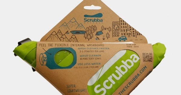 Scrubba Washing Bag keeps you from being a stinky camper