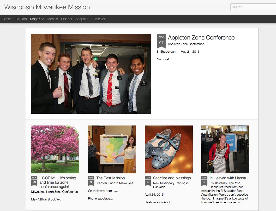 Mission Blog