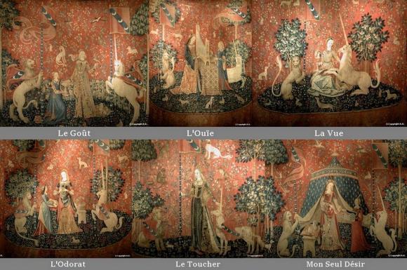 Hortibus la legende de la licorne symbole de fidelite - La tapisserie de la dame a la licorne ...