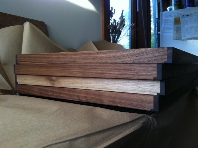Killscrow, Darrick Rasmussen woodwork, handmade frames