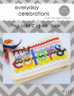 'my colors' Quiet Book Tutorial