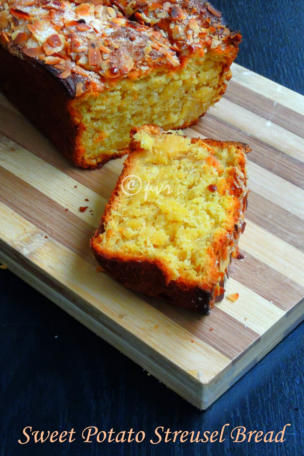 Sweet potato Streusel Bread