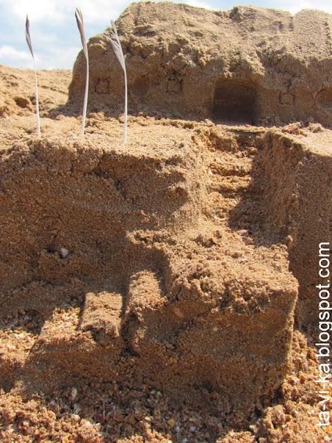 дом из песка