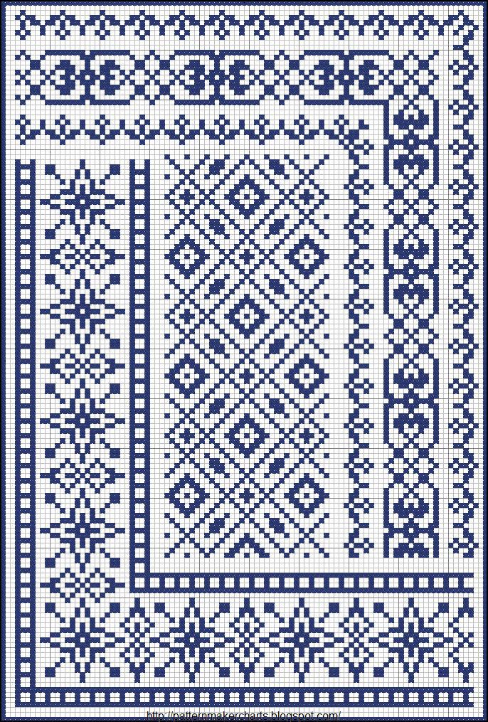 Армянская вышивка схема