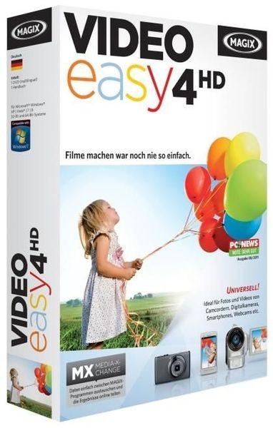 MAGIX Video easy HD 4 v4.0.0.32 Español / programas