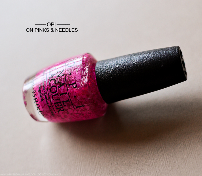 OPI Nail Polish Brights 2015 Collection 2015 On Pinks and Needles