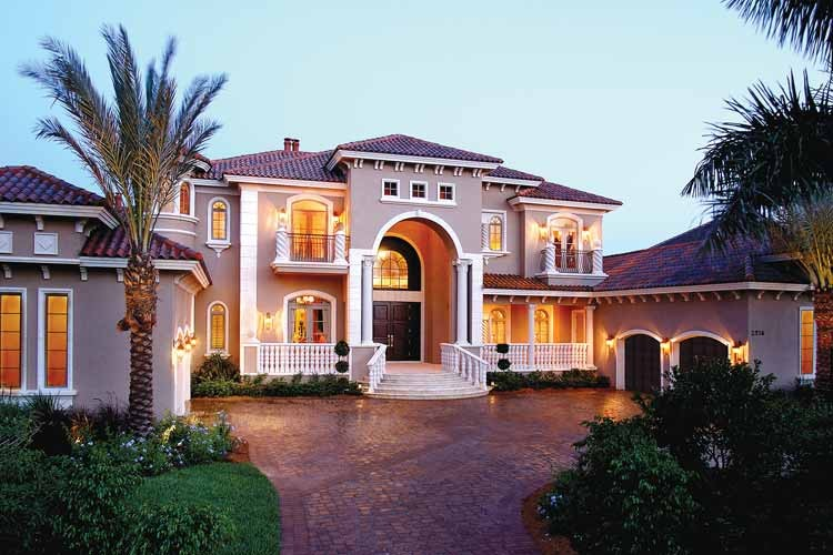 New home designs latest italian styles homes designs Italian style house plans
