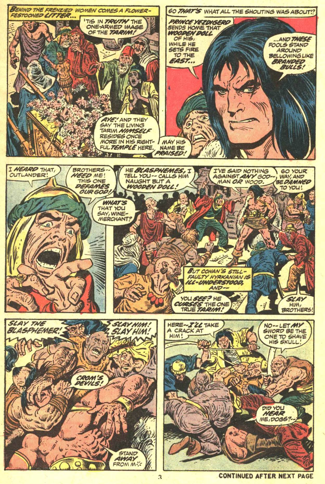 Conan the Barbarian (1970) Issue #29 #41 - English 4