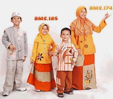 Aneka model baju muslim anak terbaru 2015