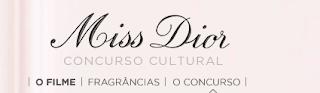 """""""Concurso Cultural Uma carta de amor - Miss Dior"""""""