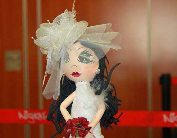 regalo de boda fofucha de novia original