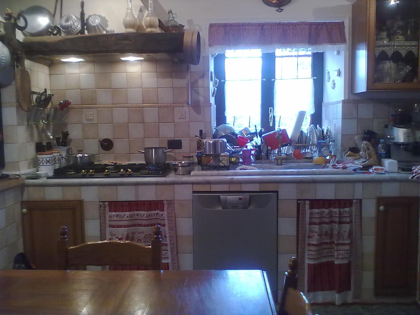 Due conoscenti in cucina - Tendine per cucina ...