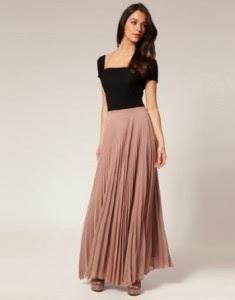 Ingin Tips Tampil Cantik Dengan Maxi Skirt