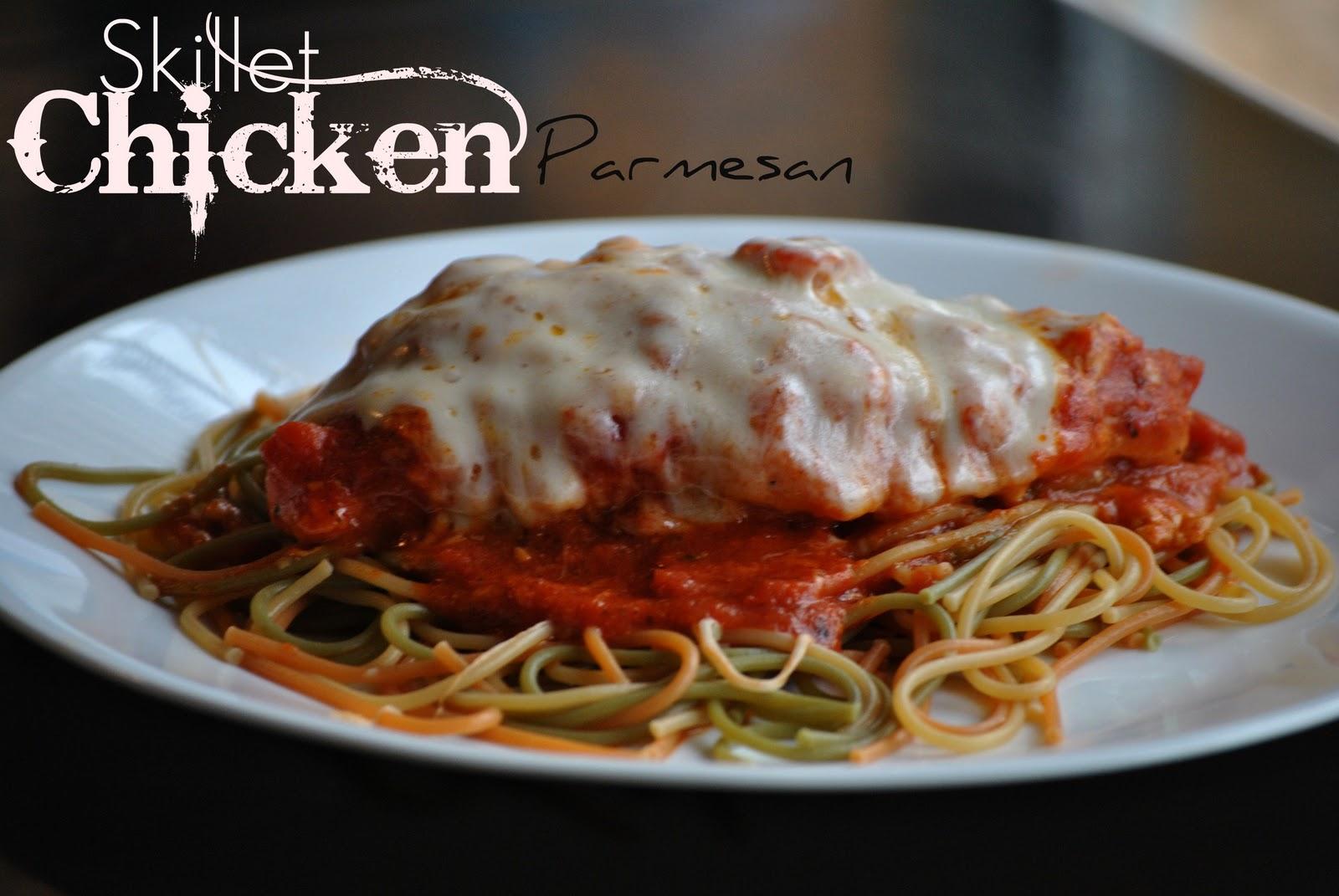 The Farm Girl Recipes: Skillet Chicken Parmesan