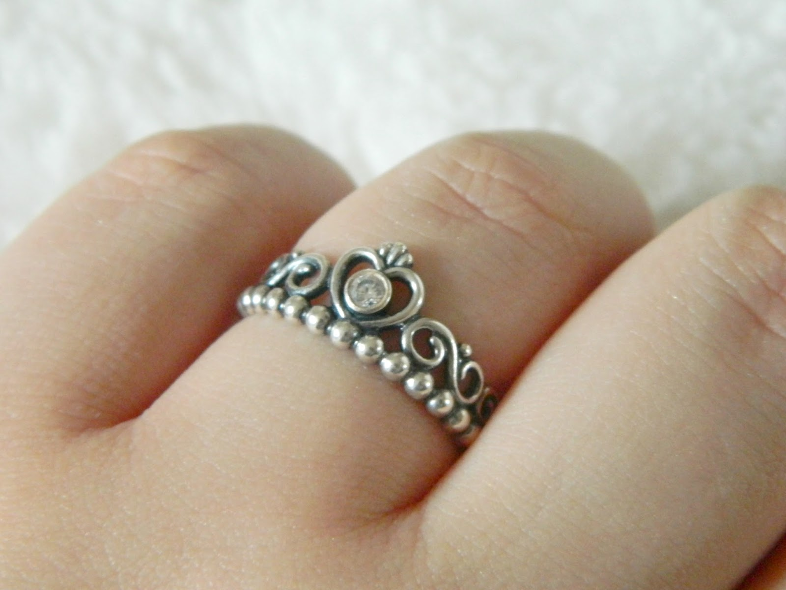 pandora tiara ring a spoonful of