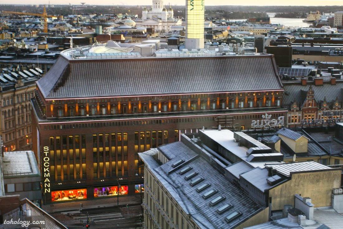 View over Helsinki // Вид на Хельсинки