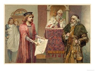 role of justice in the merchant To ignore 'the merchant of venice' would be — in a curious way — to  she  played the role of chief justice along with john r phillips, us.
