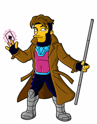 Gambit_Marvel_Comics_simpson