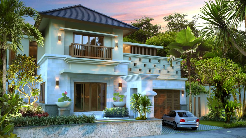 Minimalist house design plan for small families home for Minimalist house jakarta
