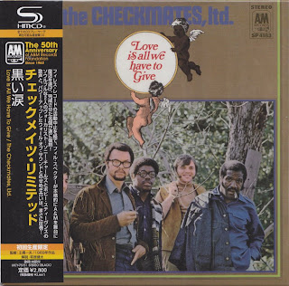 THE CHECKMATES LTD. - LOVE IS ALL WE HAVE TO GIVE (A&M 1969) Jap mastering cardboard sleeve
