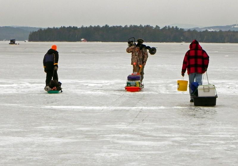 Actionshotsnh nh ice fishing derby lake winnipesaukee 2012 for Ice fishing derby