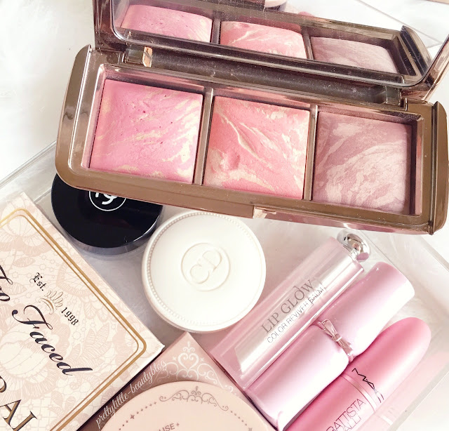 Muji Makeup Drawers | Hourglass Ambient Lighting Blush Palette