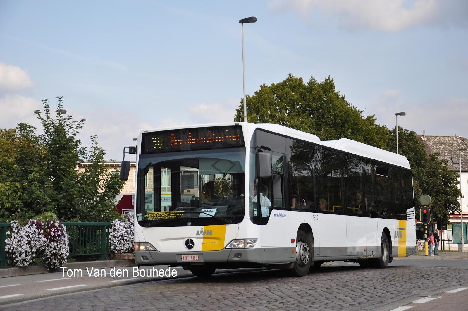 Trein en bus in Belgi u00eb  26 september 2012  Lier