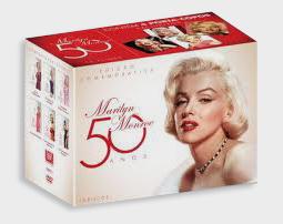 DVD 50 anos Marilyn Monroe