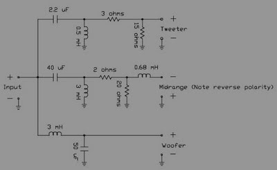 Pive Crossover schematic ~Circuit diagram on speakers diagram, crossover steering diagram, crossover circuit diagram, crossover connection diagram, cat5 cable diagram, amplifier diagram, t1 cable pinout diagram, battery diagram, subwoofer crossover diagram, altitude diagram, crossover cable diagram,