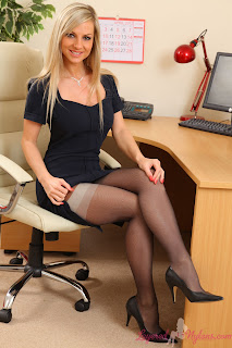 Horny office girls take break for some afternoon lesbian pussy licking at work  169468