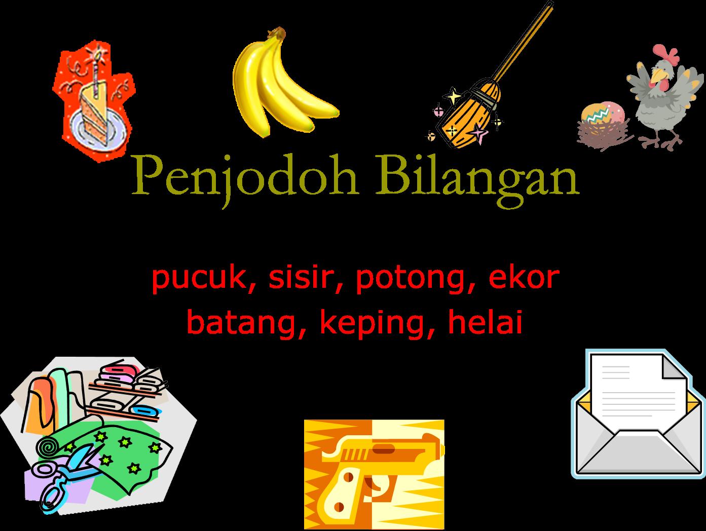 Pengajaran Bahasa Melayu Tahun Nota Penjodoh Bilangan