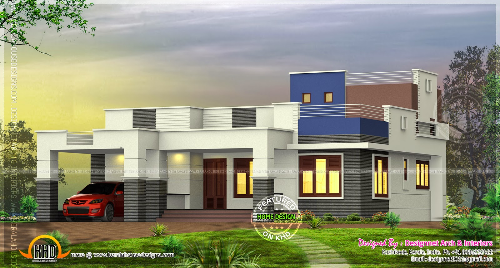 3 bedroom single storied in 1500 kerala home for 1500 sq ft house plans kerala