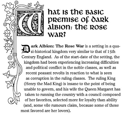 Dark Albion/RPGPundit - Corey Ryan Walden Review