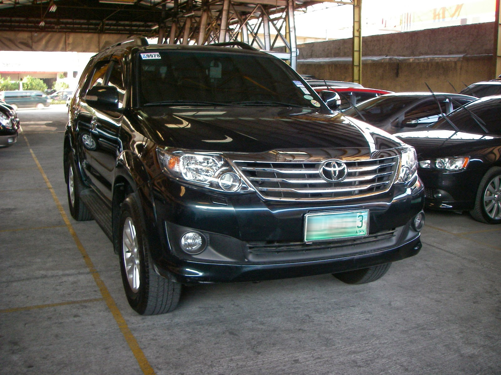 2012 toyota fortuner 4x2 automatic diesel low mileage