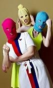 Pussy Riot 2014, photograph by Vanya Berezkin.