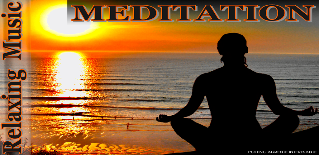 graphic promo meditation relax music