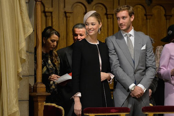 Prince Albert II of Monaco and Princess Charlene of Monaco, Beatrice Borromeo, Pierre Casiraghi,Charlotte Casiraghi and Alexandra of Hanover