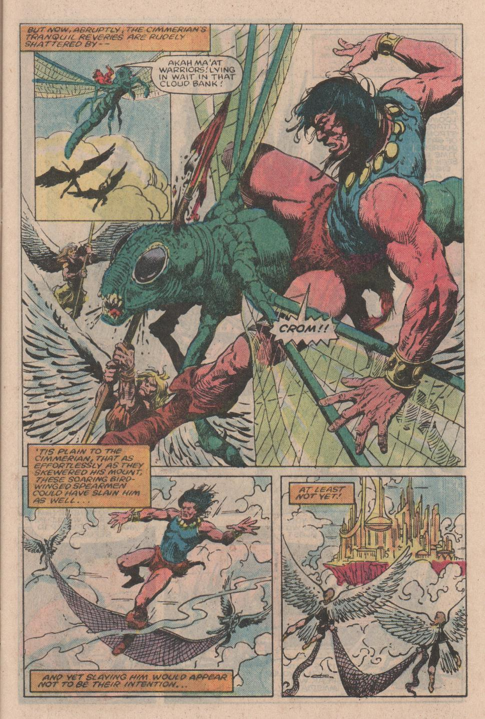 Conan the Barbarian (1970) Issue #154 #166 - English 6
