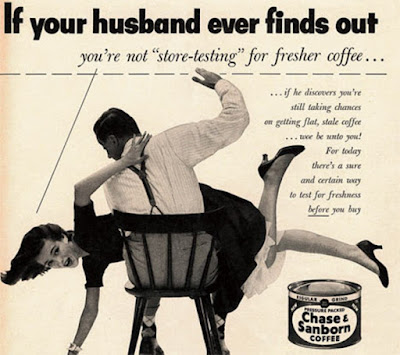 sexist coffee advert