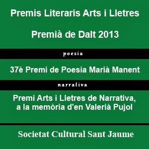 Premis Literaris Arts i Lletres 2013