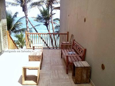 """Blue Praia Bar: """"Sala de espera"""""""