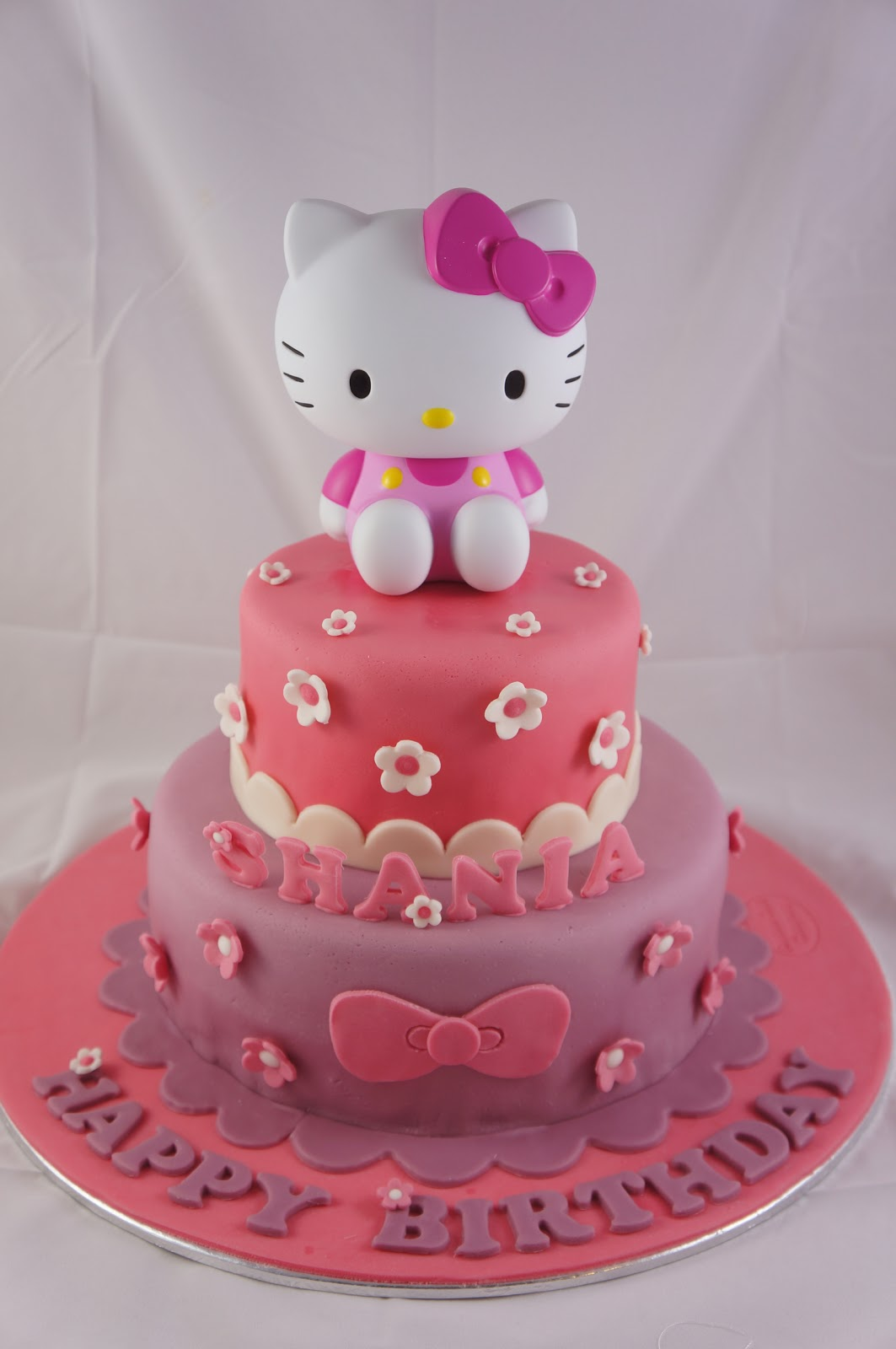 hello kitty cake the customer provided the hello kitty toy and asked ...