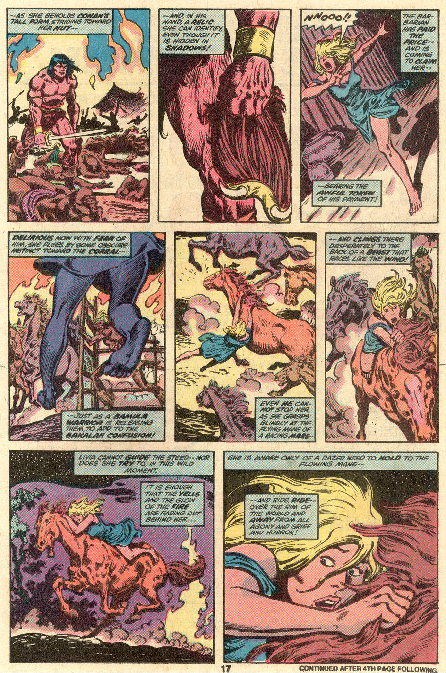 Conan the Barbarian (1970) Issue #104 #116 - English 12
