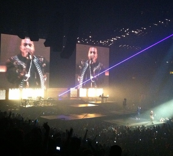 Watch The Throne Tour Stage Watch The Throne Tour