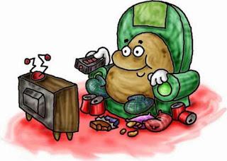 couch potato,lazy bum,couch,potato, laze around