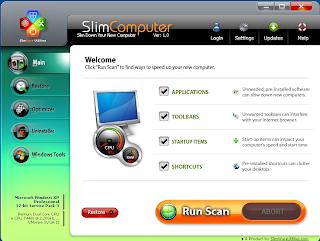 SlimComputer 1.3.28413.2140 - Αφαιρέστε trialaware, adware και άλλα ανεπιθύμητα στοιχεία από έναν υπολογιστή Slimcomputer
