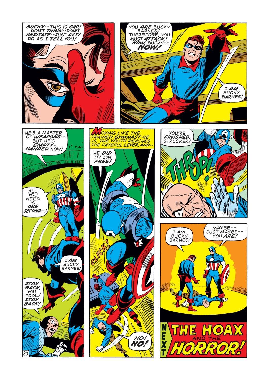 Captain America (1968) Issue #131 #45 - English 20