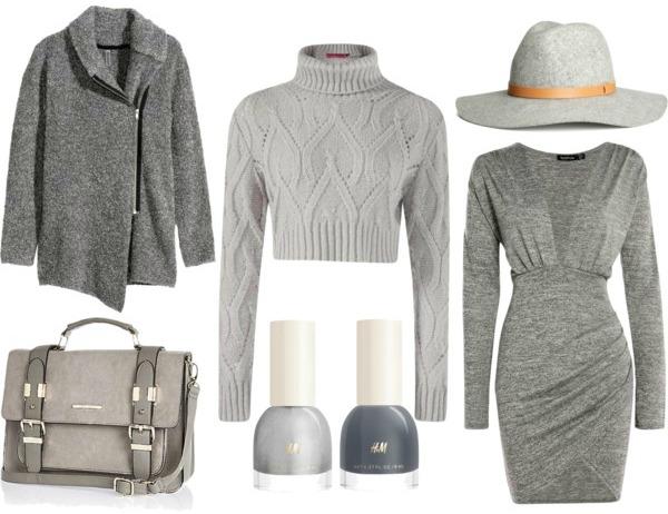 Grey Fashion Trend Fall/Winter 2015