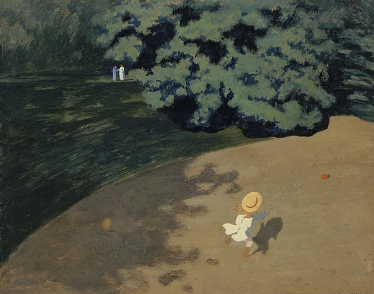 The Blue Lantern Felix Vallotton All Is Not What It Appears To Be