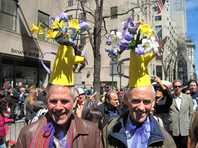 Everyone gets into the spirit at the Old New York tradition of the Easter Parade